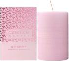 Luminum Candle Premium Aromatic Cherry aроматична свічка велика (Ø 60 - 80 mm, 32 h)