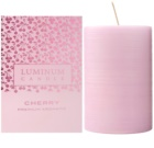 Luminum Candle Premium Aromatic Cherry bougie parfumée grande (Ø 60 - 80 mm, 32 h)