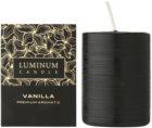 Luminum Candle Premium Aromatic Vanilla illatos gyertya  közepes (⌀ 60–80 mm, 32 h)