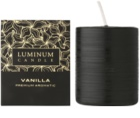 Luminum Candle Premium Aromatic Vanilla illatos gyertya  nagy (⌀ 60–80 mm, 32 h)