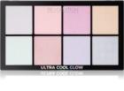 Makeup Revolution Ultra Cool Glow paleta rozjasňovačov