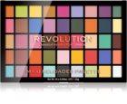 Makeup Revolution Maxi Reloaded Palette Palette mit pudrigen Lidschatten