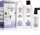 Nioxin System 5 Color Safe Chemically Treated Hair Light Thinning sada (pro mírné řídnutí normálních až silných, přírodních i chemicky ošetřených vlasů) unisex