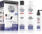 Nioxin System 5 Color Safe Chemically Treated Hair Light Thinning Kosmetiikkasetti Normaalien, Luonnollisten Ja Kemiallisesti Käsiteltyjen Hiusten Vaikeaan Ohenemiseen