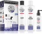 Nioxin System 5 lote cosmético (para una pérdida moderada de la densidad del cabello normal-grueso, virgen o químicamente tratado ) unisex