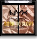 NYX Professional Makeup Born To Glow Icy Highlighter Highlighter-Palette