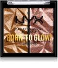 NYX Professional Makeup Born To Glow Icy Highlighter bőrvilágosító paletta