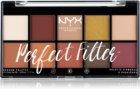 NYX Professional Makeup Perfect Filter Shadow Palette Lidschatten-Palette