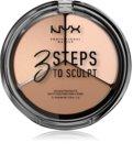 NYX Professional Makeup 3 Steps To Sculpt Patela pentru conturul fetei