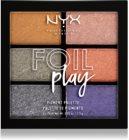NYX Professional Makeup Foil Play Luomiväri Paletti