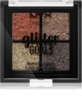 NYX Professional Makeup Glitter Goals paleta prasowanych brokatów małe opakowanie