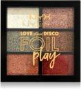NYX Professional Makeup Love Lust Disco Foil Play Lidschattenpalette