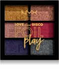 NYX Professional Makeup Love Lust Disco Foil Play paleta sjenila za oči