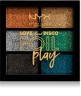 NYX Professional Makeup Love Lust Disco Foil Play paletă cu farduri de ochi