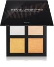 Revolution PRO 4K Highlighter Palette bőrvilágosító paletta