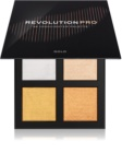 Revolution PRO 4K Highlighter Palette paleta luminoasa