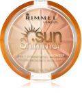 Rimmel Sun Shimmer 3 in 1 Shimmering Bonzer pudra bronzanta stralucitoare