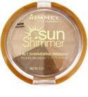 Rimmel Sun Shimmer 3 in 1 Shimmering Bonzer poudre bronzante scintillante