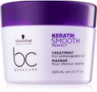 Schwarzkopf Professional BC Bonacure Keratin Smooth Perfect maseczka  do włosów nieposłusznych i puszących się