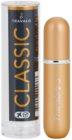 Travalo Classic Black nachfüllbarer flakon mit zerstäuber Unisex Gold