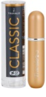 Travalo Classic Black polnilno razpršilo za parfum uniseks Gold