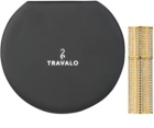 Travalo Divine refillable atomiser with swarovski crystals Unisex Gold