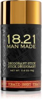 18.21 Man Made Sweet Tobacco tuhý deodorant bez obsahu hliníkových solí