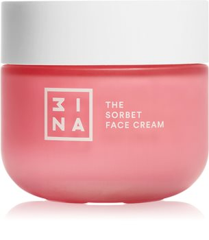 3INA Skincare The Sorbet Face Cream легкий зволожуючий крем для обличчя
