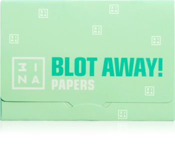 3INA Blot Away Papers papel matificante