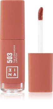 3INA The Longwear Lipstick langanhaltender flüssiger Lippenstift