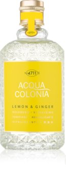 4711 Acqua Colonia Lemon & Ginger eau de cologne mixte