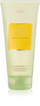 4711 Acqua Colonia Lemon & Ginger latte corpo unisex