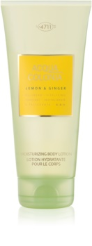 4711 Acqua Colonia Lemon & Ginger mleczko do ciała unisex