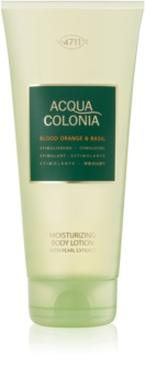 4711 Acqua Colonia Blood Orange & Basil latte corpo unisex
