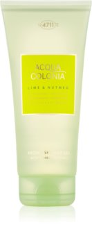4711 Acqua Colonia Lime & Nutmeg gel de douche mixte