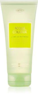 4711 Acqua Colonia Lime & Nutmeg gel de duș unisex