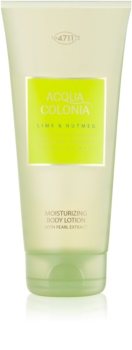 4711 Acqua Colonia Lime & Nutmeg latte corpo unisex