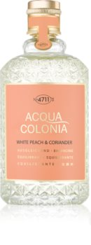 4711 Acqua Colonia White Peach & Coriander Eau de Cologne Unisex