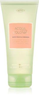 4711 Acqua Colonia White Peach & Coriander tusfürdő gél unisex