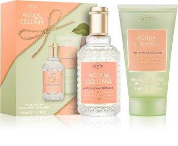 4711 Acqua Colonia White Peach & Coriander Gift Set II. Unisex