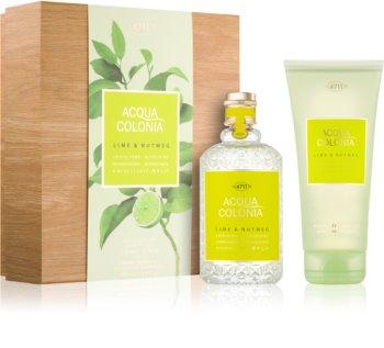 4711 Acqua Colonia Lime & Nutmeg coffret cadeau I. mixte
