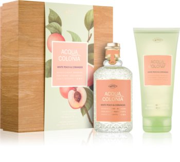 4711 Acqua Colonia White Peach & Coriander darilni set I. uniseks