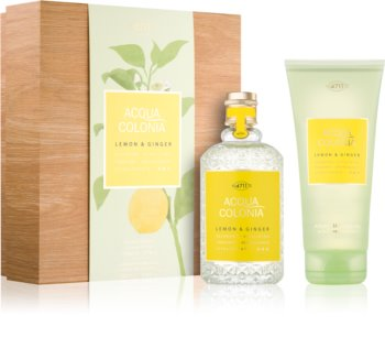 4711 Acqua Colonia Lemon & Ginger coffret cadeau I. mixte