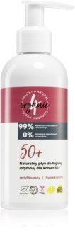 4Organic 50+ gel para higiene íntima com doseador