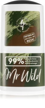4Organic Mr. Wild Roll-On Deodorant