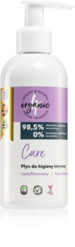 4Organic Care gel per l'igiene intima con dosatore