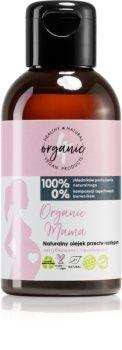 4Organic Organic Mama масажно гел-масло за белези и стрии