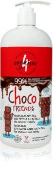 4Organic Choco extra jemný sprchový gel pro celou rodinu