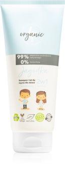 4Organic Blueberry šampon a sprchový gel 2 v 1