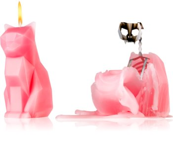 54 Celsius PyroPet KISA (Cat) decorative candle dusty pink